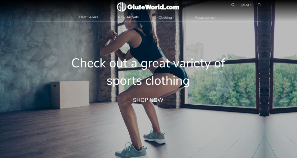 GluteWorld Home